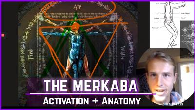 MERKABA activation light body Esoteric subtle energy work
