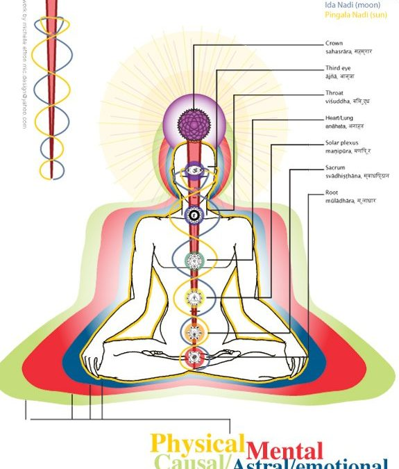 Subtle Energy Body Anatomy – The Nadis and Prana Channels